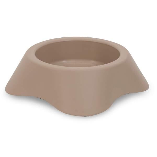 Kunststoffnapf Nuvola beige 1 (16x4.5cm) 0.2L|2 (18x5cm) 0.3L|3 (20x6cm) 0.5L|4 (25x7.5cm) 1L|5 (30x8.5cm) 1.7L