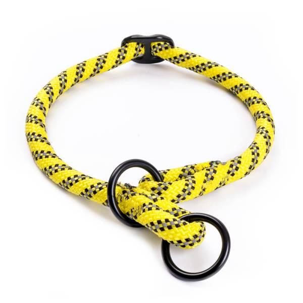 Freezack Hundehalsband Rope neon gelb L (40-45cm) 12mm|M (35-40cm) 8mm|S (30-35cm) 8mm|XL (45-50cm) 12mm