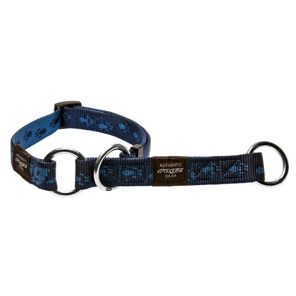 rogz Stop Hundehalsband Alpinist blau L (34-56cm)|M (26-40cm)|XL (43-70cm)