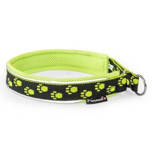 Freezack Stop Halsband Nordic Fashion lime/schwarz L (50/55cm) 25mm|M (45/50cm) 25mm|S (35/40cm) 20mm|XL (55/60) 25mm