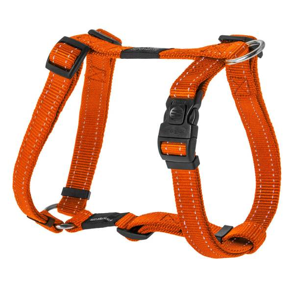 rogz Hundegeschirr Utility orange L (45-75cm) 20mm|M (32-52cm) 16mm|S (23-37cm) 11mm|XL (60-100cm) 25mm
