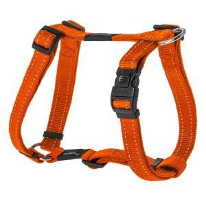 rogz Hundegeschirr Utility orange L (45-75cm) 20mm M (32-52cm) 16mm S (23-37cm) 11mm XL (60-100cm) 25mm