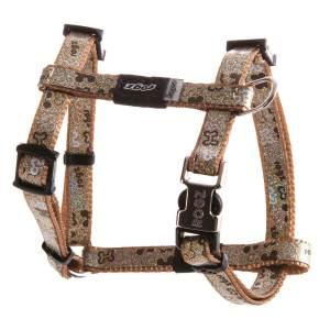 rogz Hundegeschirr Trendy braun M (41-70cm) S (28-47cm) XS (22-34cm)