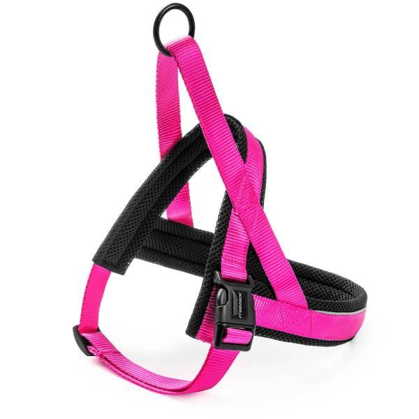 Freezack Hundegeschirr Nordic Basic pink M (57-75cm) 25mm