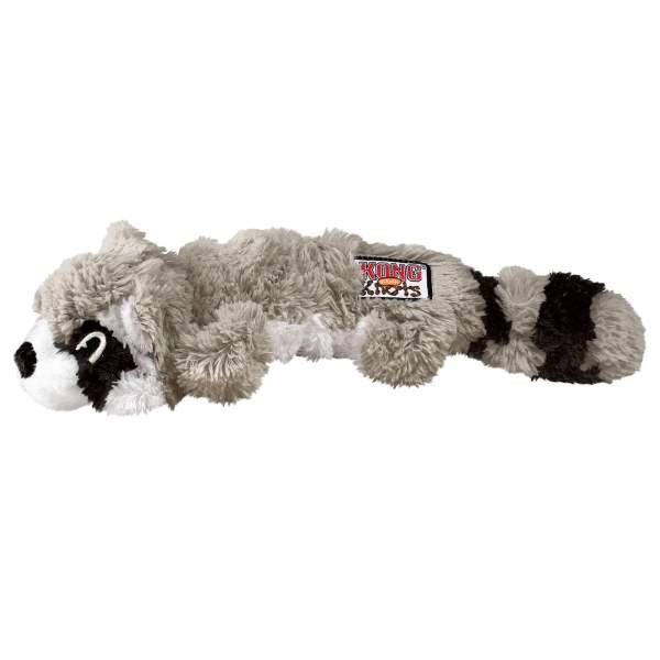 KONG Hundespielzeug Scrunch Knots Raccoon M (8.5x11.5cm