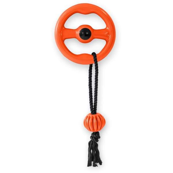 Freezack Hundespielzeug Floating Ring mit Schlaufe