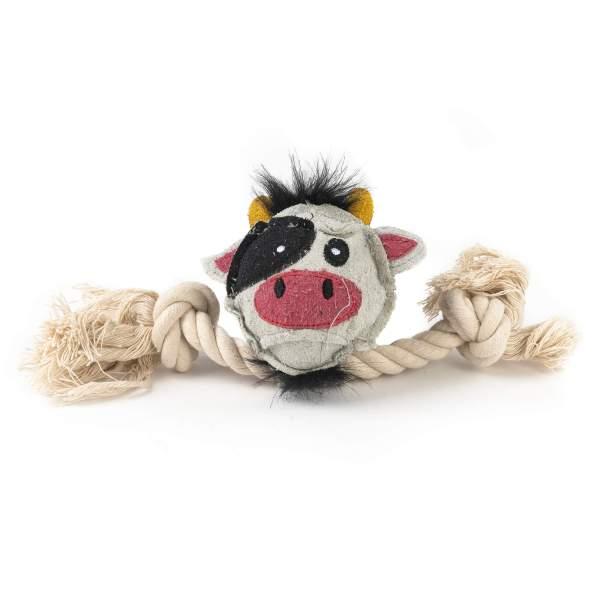 Freezack Hundespielzeug Cow Ball Loop