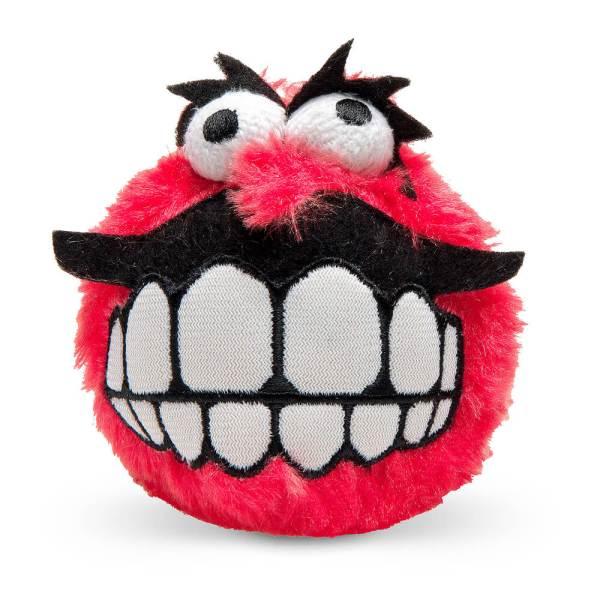 rogz Hundespielzeug Plush Grinz rot L (8cm) M (6.5cm) S (5.5cm)