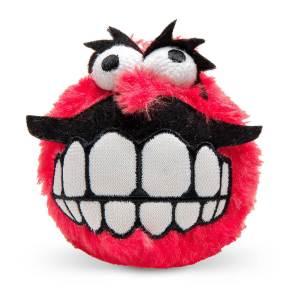 rogz Hundespielzeug Plush Grinz rot L (8cm)|M (6.5cm)|S (5.5cm)