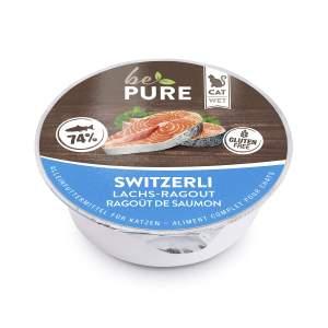 bePure BePure Switzerli Lachs-Ragout (24x85g)