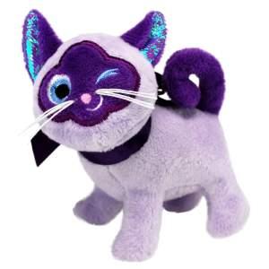 KONG Crackles Winkz Cat violett (11x11.5cm)