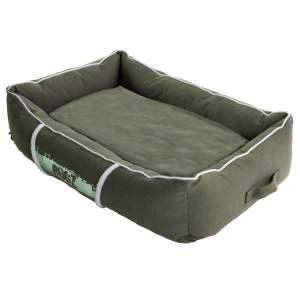 rogz Hundebett Lounge Pod grün L (90x59x27cm)|M (72x51x24cm)|S (56x35x22cm)