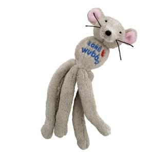 KONG Wubba Mouse mit Katzenminze