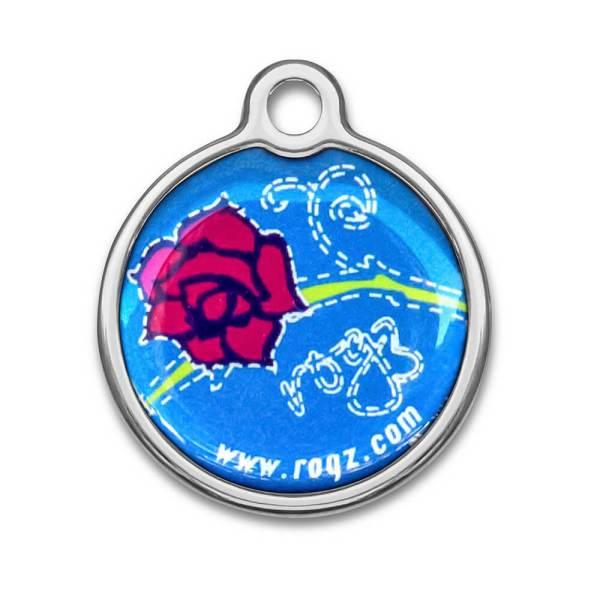 Metal ID-Tag Denim Rose L (30mm)|S (20mm)