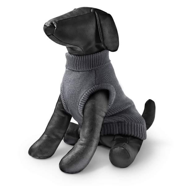 rogz Hundepullover grau 20cm|22cm|25cm|28cm|32cm|36cm|40cm