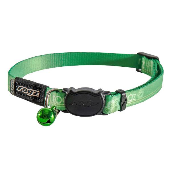 rogz Katzenhalsband Kiddycat grün 16.5-23cm (8mm) 20-31cm (11mm)