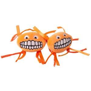 rogz Katzenspielzeug Catnip Flossy Grinz orange