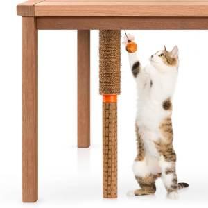 United Pets Cat Pole Kratzbaum mit Spielzeug