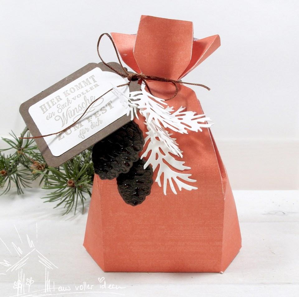 Ein Sack voller Wünsche - Inspiration und Anleitung. Ideal als Verpackung und Adventskalender