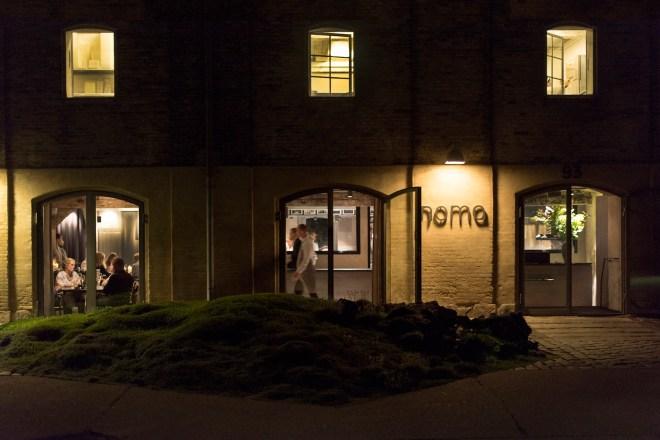 Noma at night. Photo: Laura Lajh Prijatelj