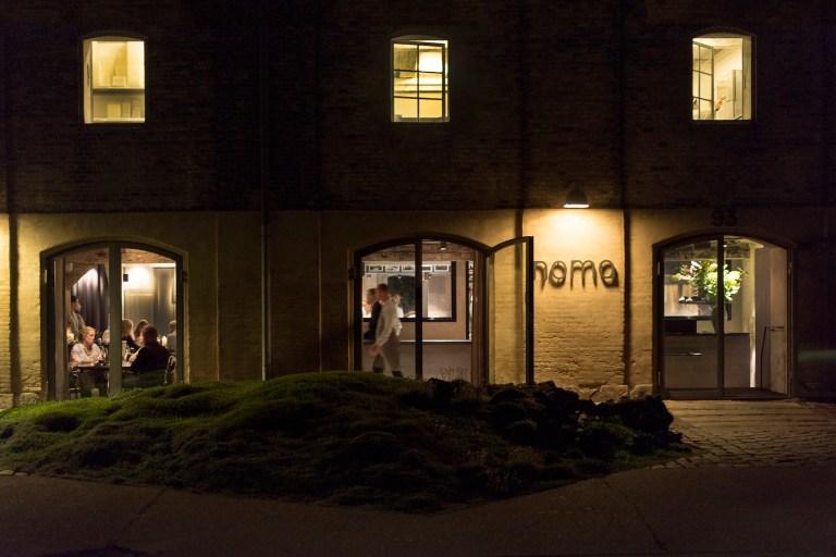 Noma at night.  Photo: HdG photography
