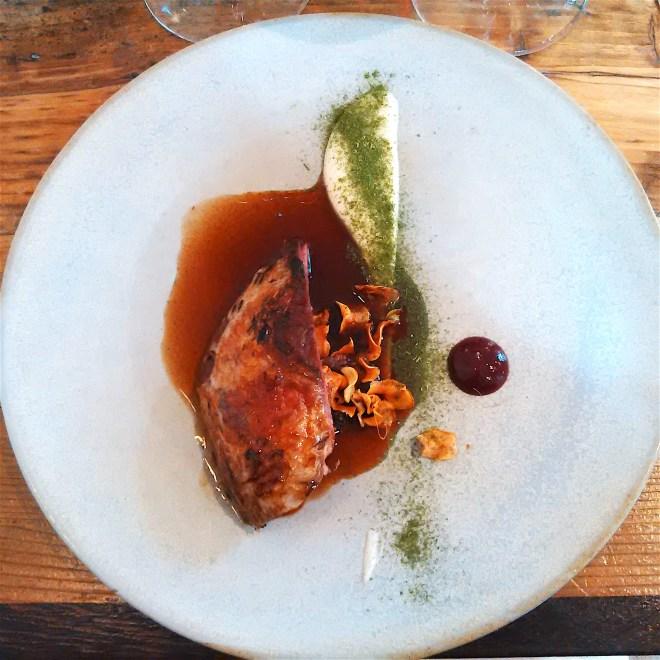Roast Scottish Grouse, Parsnip, Fig & Honey