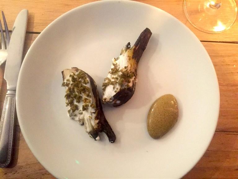 Fennel, kefir and olives