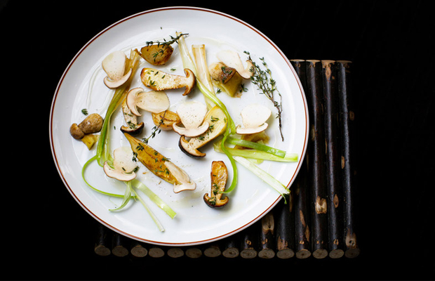 Alain Passard's dish at L'Arpege. Photo: World's 50 best restaurants
