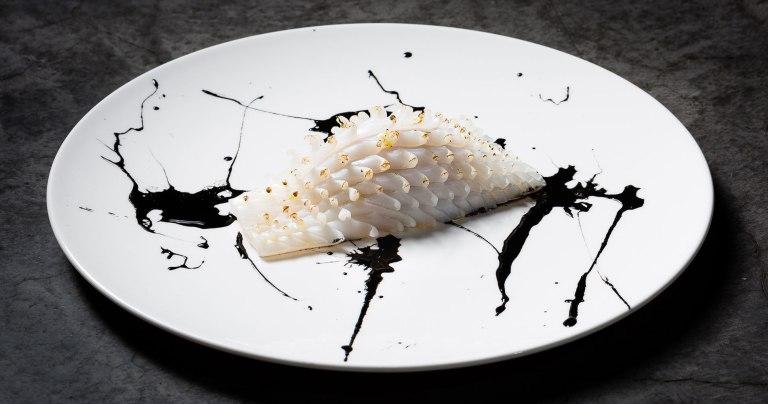 Yoji Tukoyoshi's dish