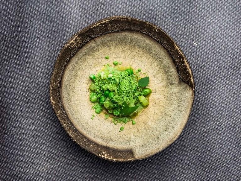 Green vegetables x melon x bay leaf oil Photo: Jürgen Grünwald