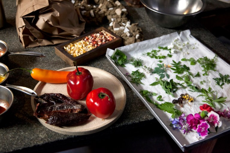 The beauty of Peruvian ingredients. Photo: courtesy of Nicholas Gill