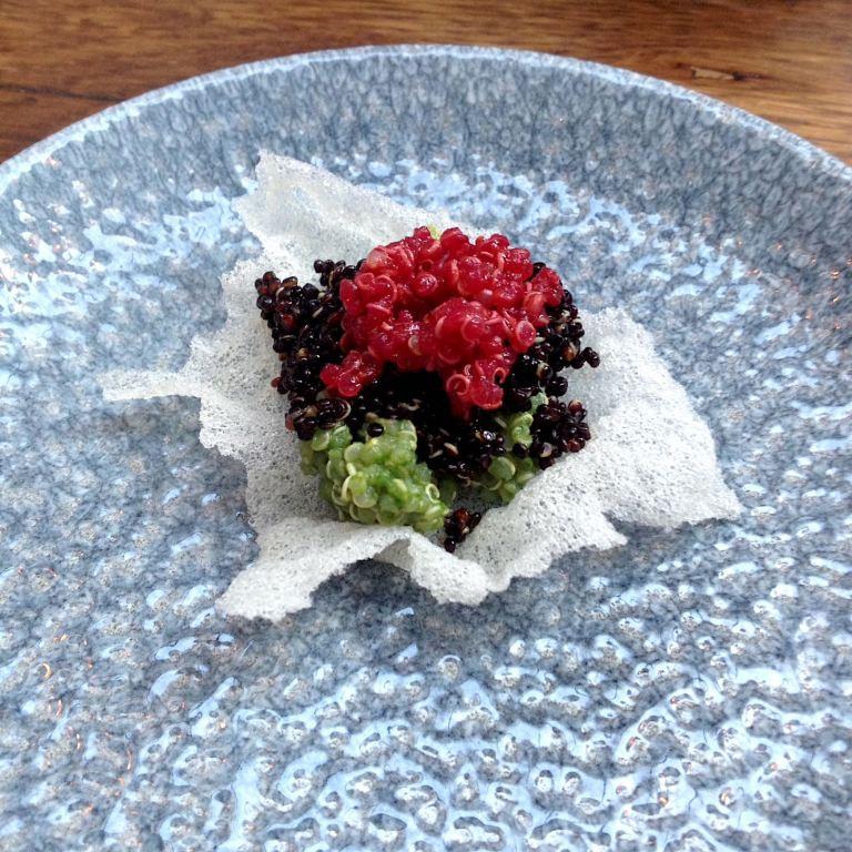 Quinoa as an appetiser