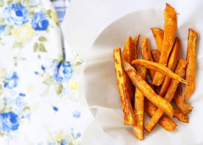 Cinnamon Paprika Sweet Potato Fries