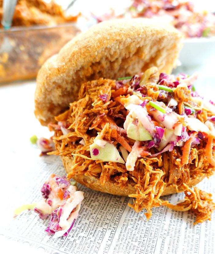 Pulled BBQ Chicken Sandwich