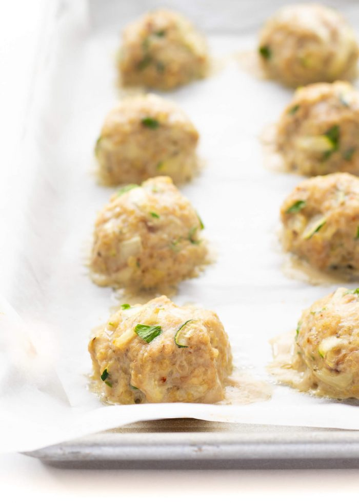 Chicken Quinoa Meatballs