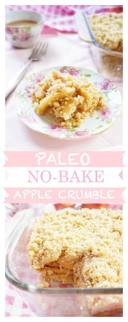 No-Bake Apple Crumble