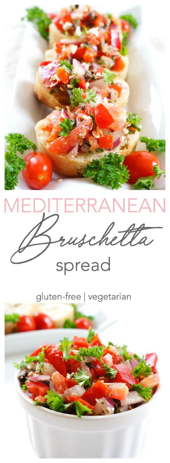 Mediterranean Bruschetta Spread