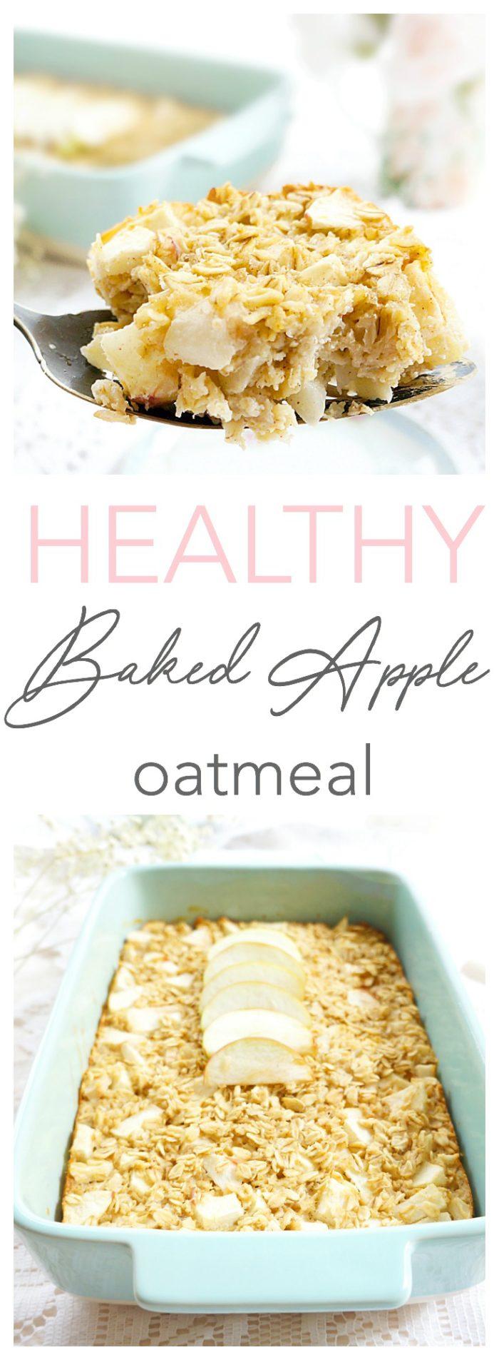 Baked Apple Oatmeal