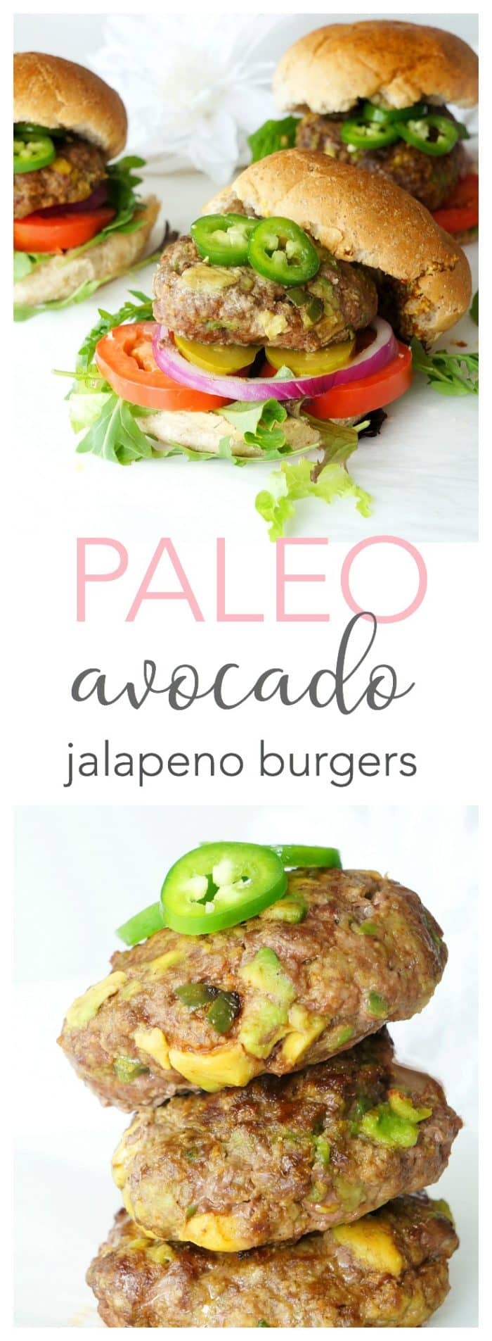 Avocado Jalapeno Burger