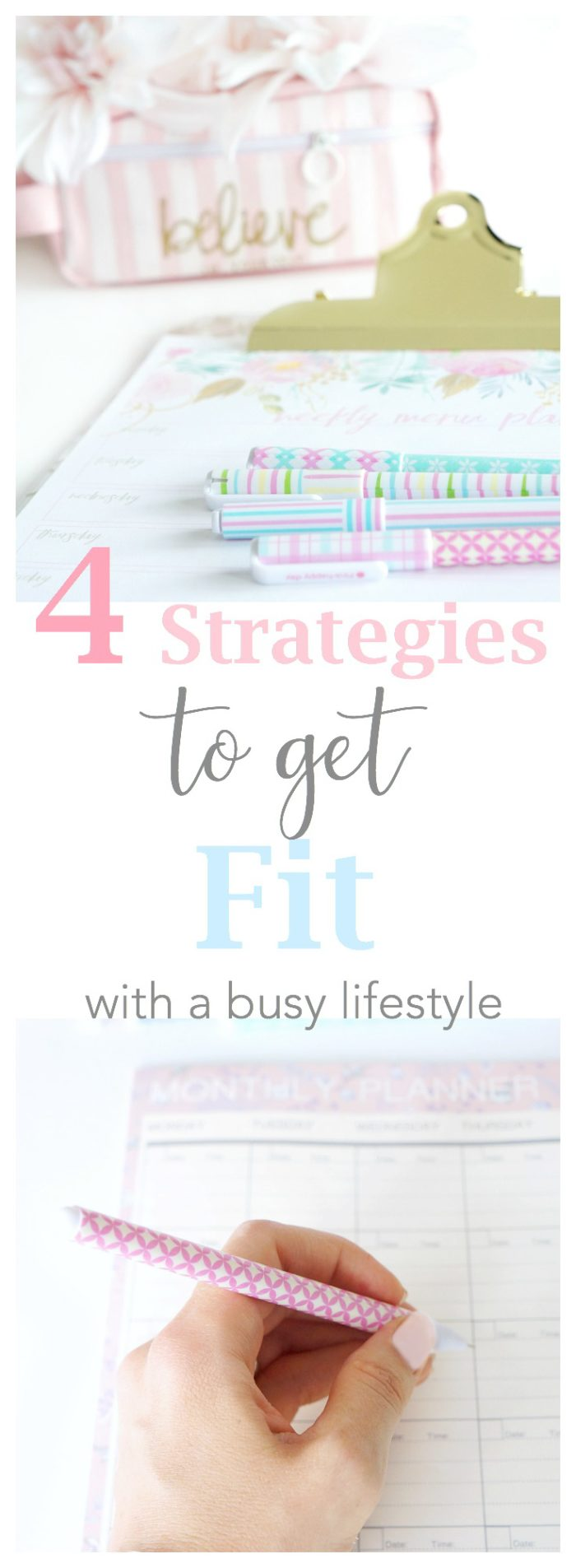 Organizational Strategies to Fit Healthy Living into A Busy Lifestyle
