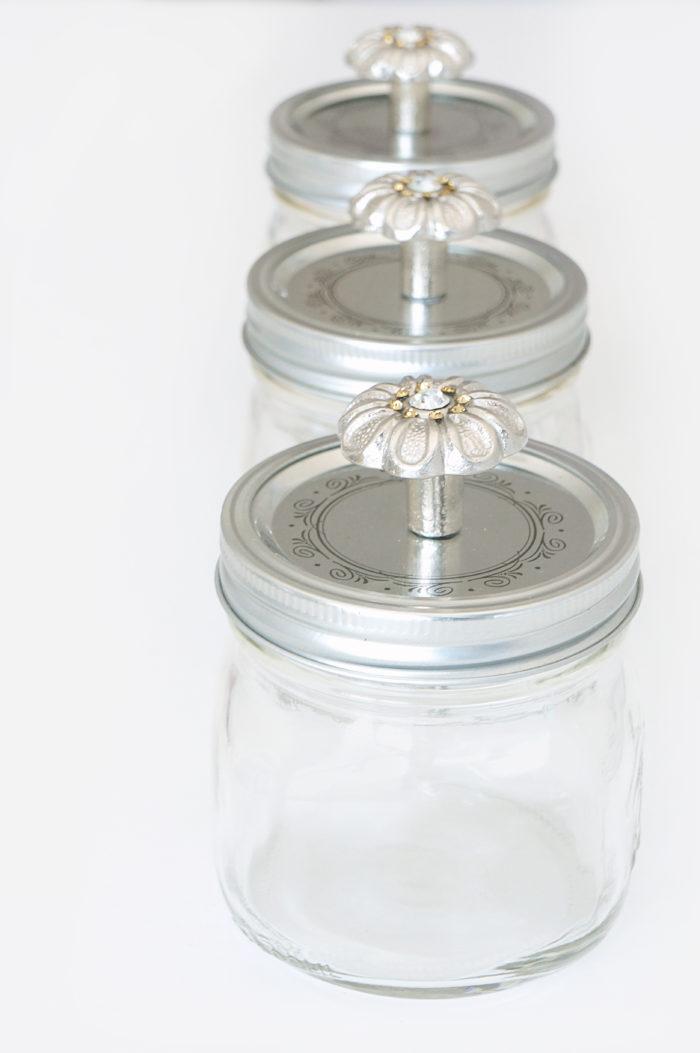 DIY Mason Snack Jars