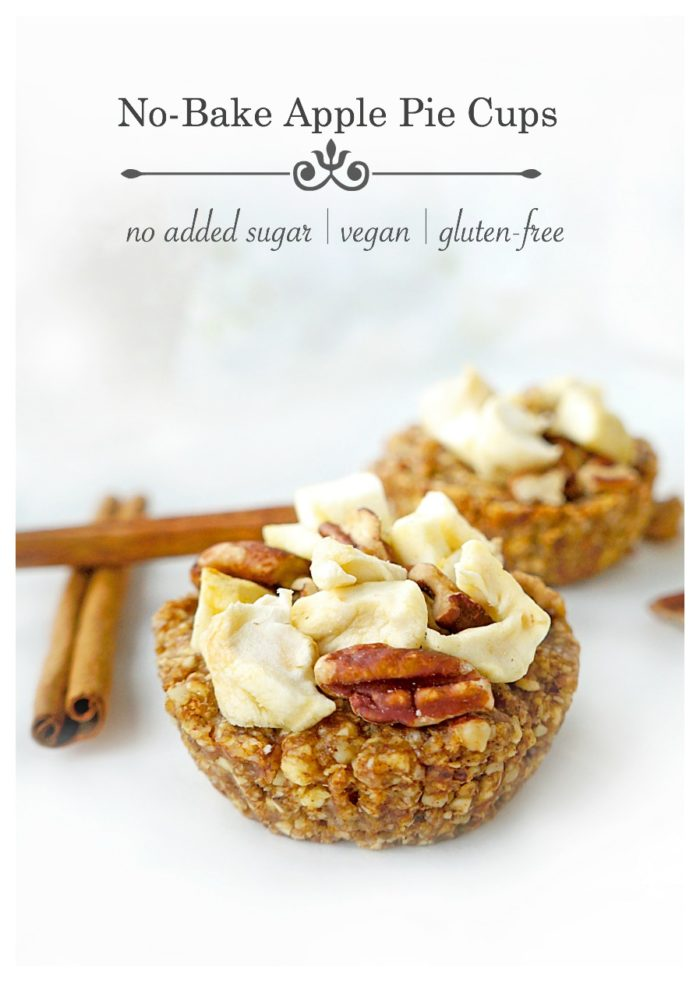 No-Bake Apple Pie Cups