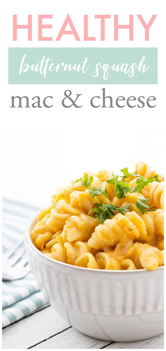 This Crockpot Butternut Squash Mac & Cheese has the perfect amount of creaminess and flavour that the whole family will love. It makes an easy vegetarian meal since all of the sauce ingredients can simmer in the crockpot for the day. With the addition of butternut squash and lentils, this mac and cheese packs a powerful nutritional punch for the ultimate healthy comfort food! {Vegetarian}
