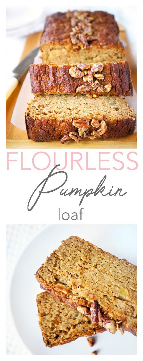 Flourless Pumpkin Loaf