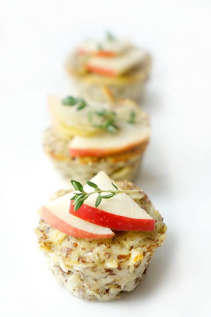 Turkey Apple Meatloaf Muffins