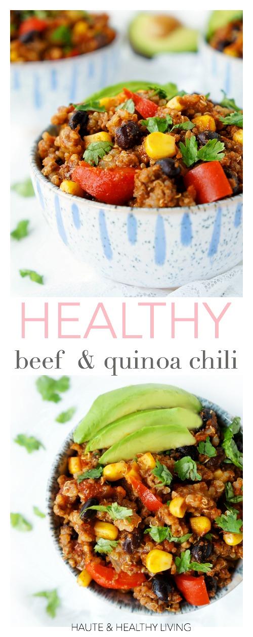 Beef & Quinoa Chili