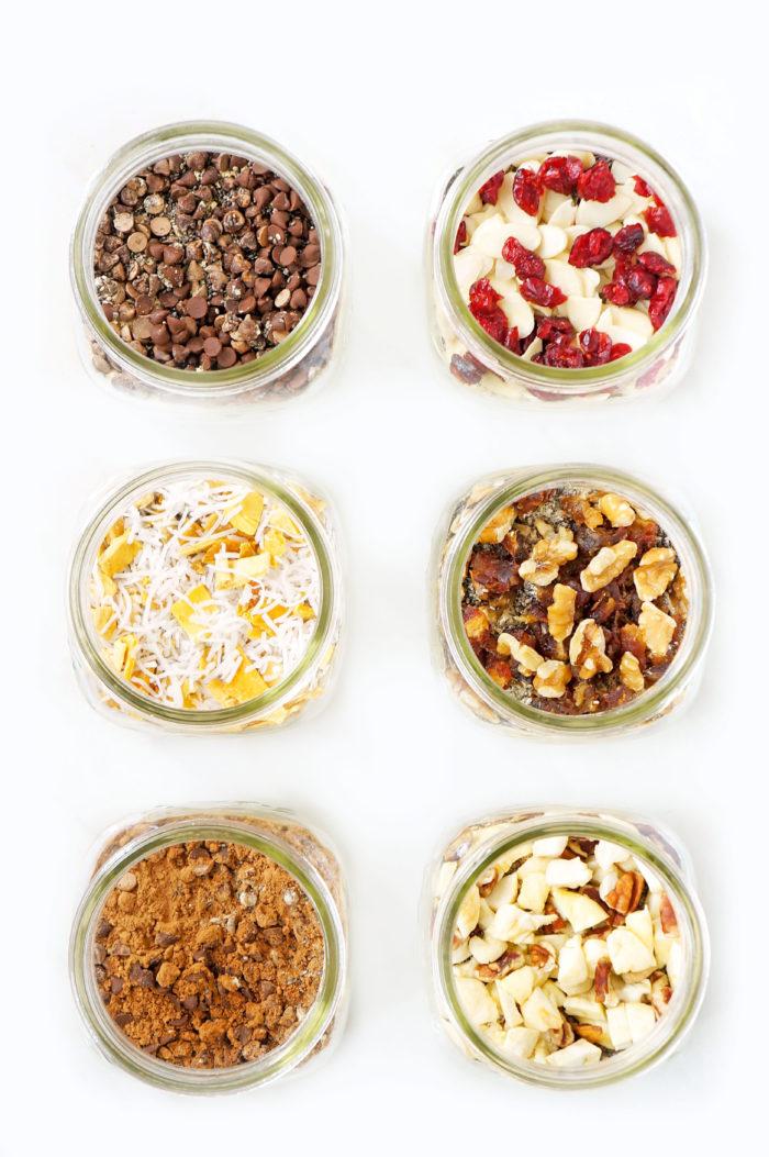 DIY Mason Jar Instant Overnight Oat Recipes