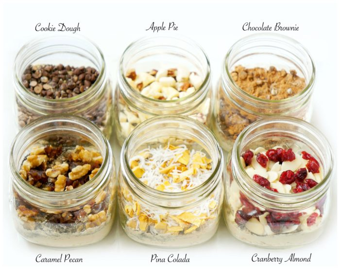 DIY Mason Jar Overnight Oat Recipes