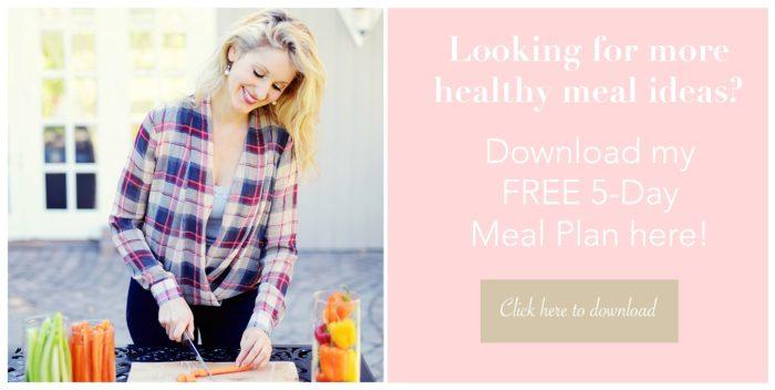Free 5-Day Meal Plan