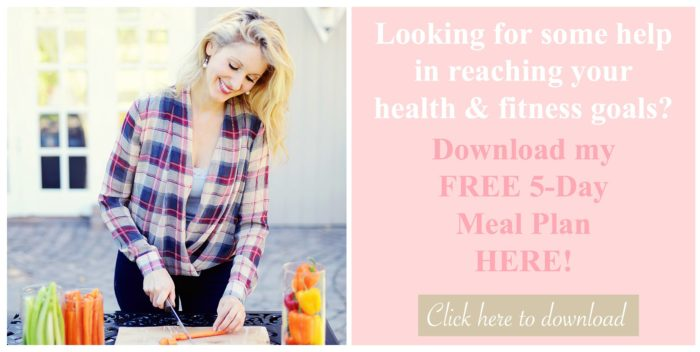 Free 5-day Meal Plan